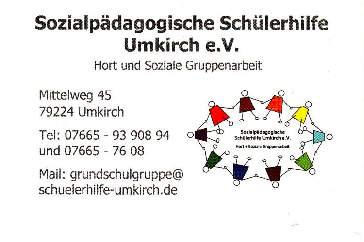 Sozialpädagogische Schülerhilfe Umkirch-Partner und Kooperationen von Capoeira Freiburg